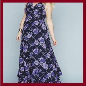 JESSICA LONDON FLyaway Maxi Dress Sz 24